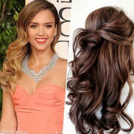 Стильно уложенные волосы длинные прически