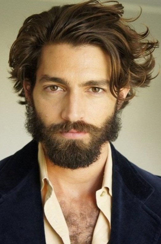 Длинные кудрявые волосы у мужчин прически